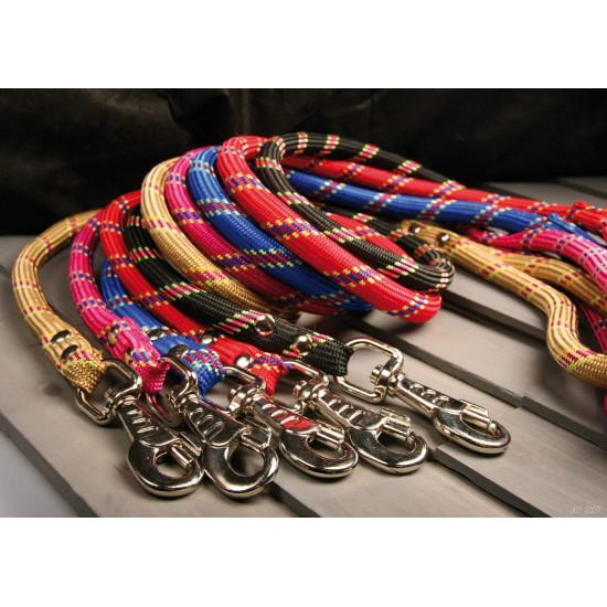 Laisse corde 13mm/ 6m noir de Zolux - Produit pour animaux dans Laisses