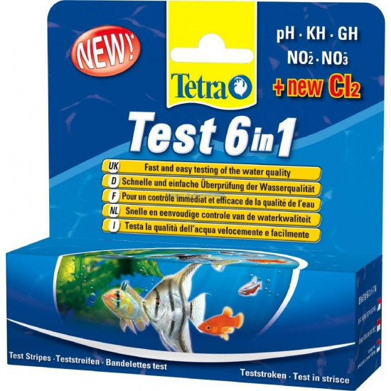 Tetra test bande 6 en 1