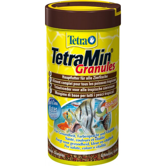 Tetra tetramin granules 250ml de Tetra - Tetra pond - Nourriture pour poissons dans Poissons tropicaux