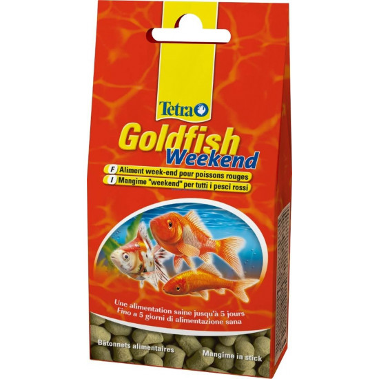 Tetra goldfish week end 40 stk