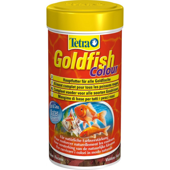 Tetra goldfish colour flocon 250ml