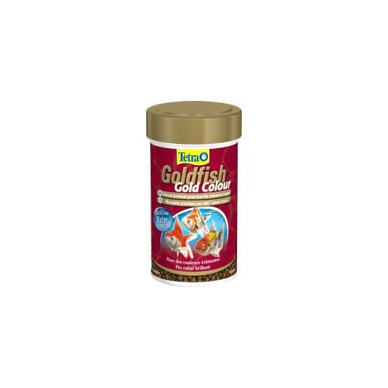 Tetra goldfish gold colour 100ml de Tetra - Tetra pond - Nourriture pour poissons dans Poissons tropicaux