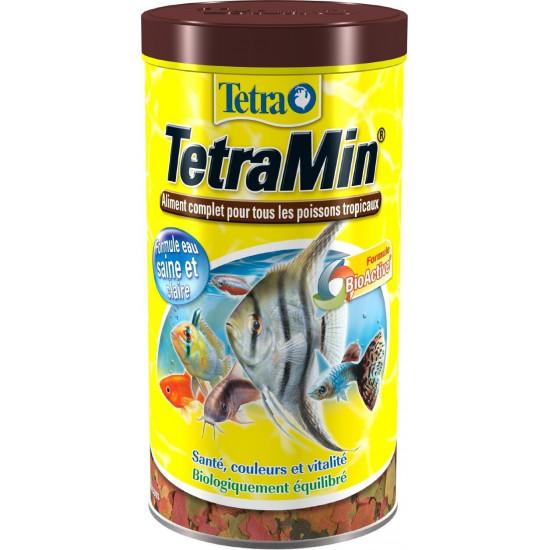 Tetra tetramin flocons 1l de Tetra - Tetra pond - Nourriture pour poissons dans Poissons tropicaux