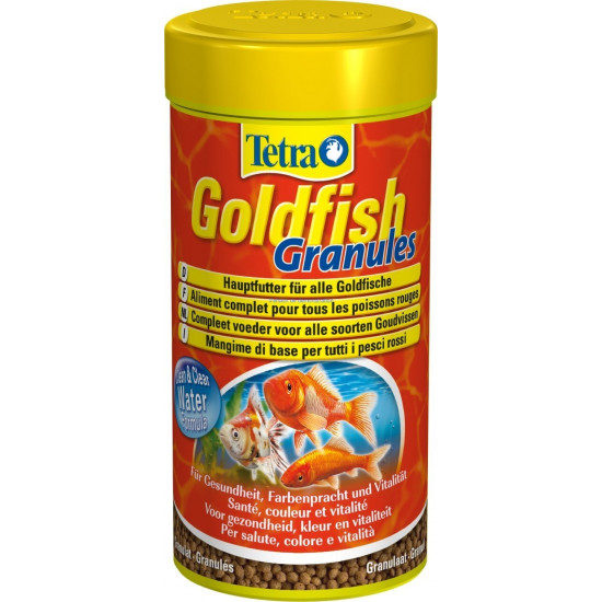 Tetra goldfish granules 250ml de Tetra - Tetra pond - Nourriture pour poissons dans Poissons rouges