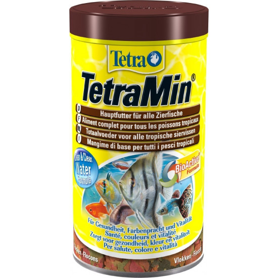Tetra tetramin flocons 500ml de Tetra - Tetra pond - Nourriture pour poissons dans Poissons tropicaux