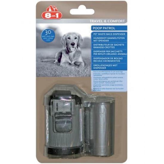 Distributeur poop patrol de 8in1 dans Hygiene pour chiens