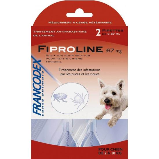 Fipromedic 67mg /2 2-10kg