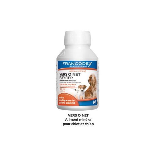 Vers o net cn 100ml de Francodex dans Hygiene pour chiens