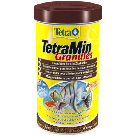 Tetramin granules 500ml de Tetra - Tetra pond dans Poissons tropicaux