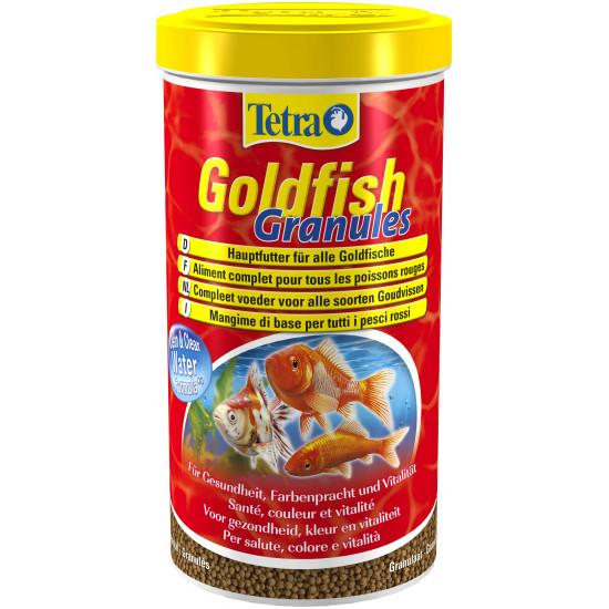 Tetra goldfish granules 1l