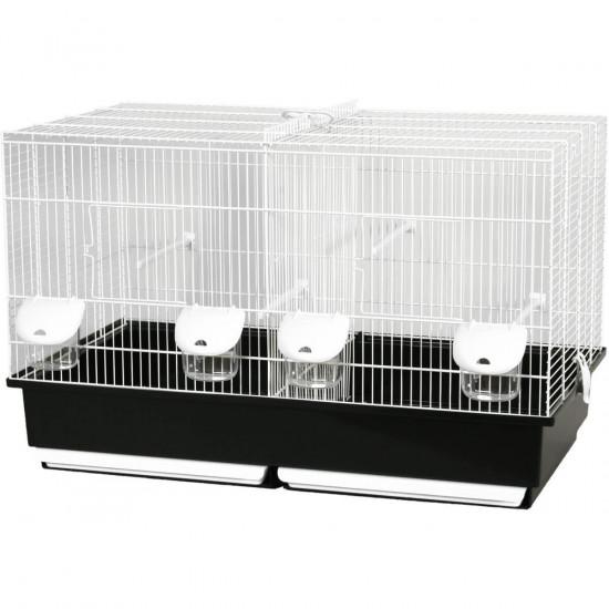 Cage elevage 57 noir-gris de Zolux - Produit pour animaux dans Cages pour oiseaux
