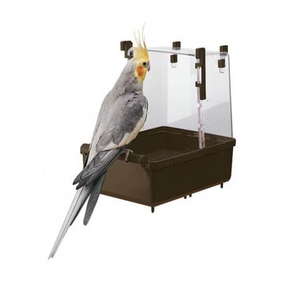 Baignoire perroquet couleur l101 de Ferplast - cage pour oiseaux et rongeurs dans Gamelles et abreuvoirs pour oiseaux