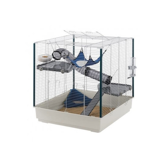 Cage furet xl bleue de Ferplast - cage pour oiseaux et rongeurs dans Cages pour rongeurs