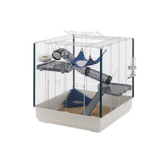 Cage furet xl bleue de Ferplast dans Cages mammiferes
