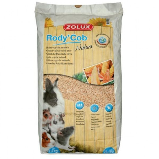 Litiere vegetal rodycob nature 50l