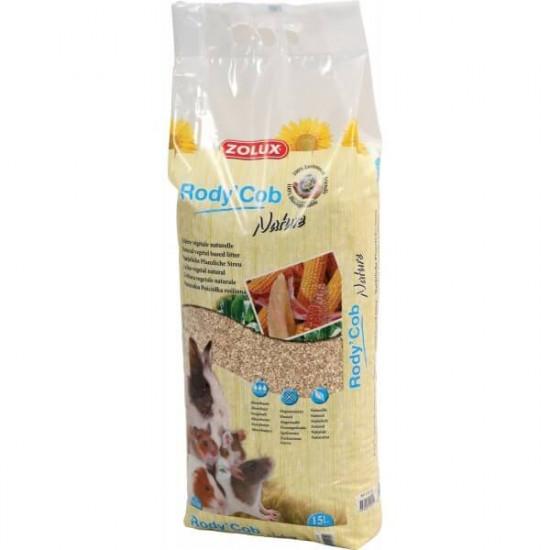 Litiere vegetal rodycob nature 15l de Zolux - Produit pour animaux dans Litières pour rongeurs