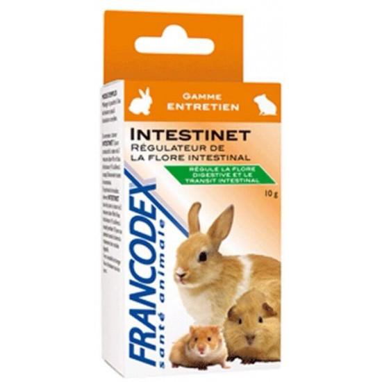 Intestinet 10g de Francodex - anti puce et soin pour chien et chat dans Hygiene rongeurs