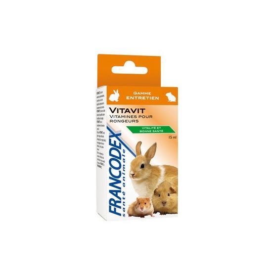 Vitavit 18g de Francodex - anti puce et soin pour chien et chat dans Hygiene rongeurs