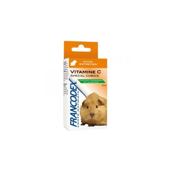 Vitamine c cobaye 15ml de Francodex - anti puce et soin pour chien et chat dans Hygiene rongeurs