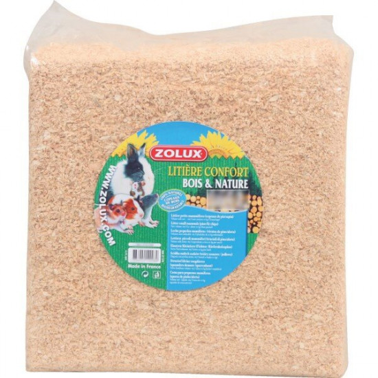Litiere rodywood nature 350l de Zolux - Produit pour animaux dans Litières pour rongeurs