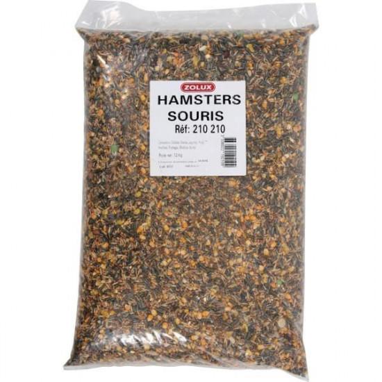 Melange hamster sac 12kg de Zolux - Produit pour animaux dans Nourriture pour rongeurs