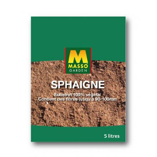 Sphaigne 5l de Masso - Engrais bio et soin des plantes dans Substrat de sol