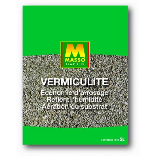 Vermiculite 5l de Masso - Engrais bio et soin des plantes dans Substrat de sol