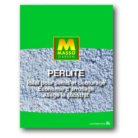 Perlite 5l de Masso - Engrais bio et soin des plantes dans Substrat de sol
