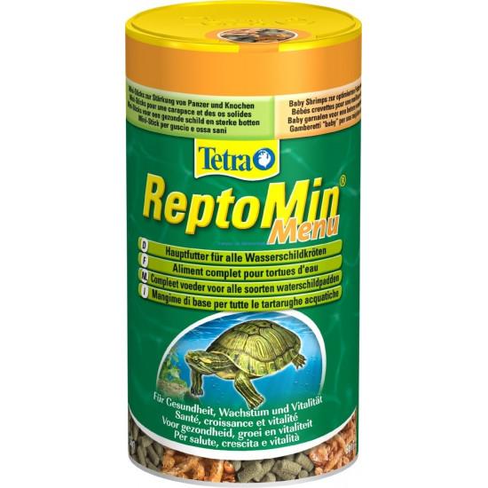 Tetrafauna reptomin menu 250ml de Tetra - Tetra pond - Nourriture pour poissons dans Seche et granules