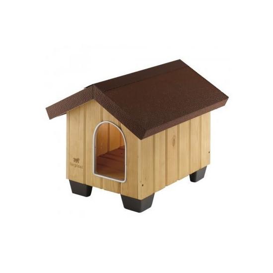 Niche domus bois medium de Ferplast - cage pour oiseaux et rongeurs dans Niches pour chiens