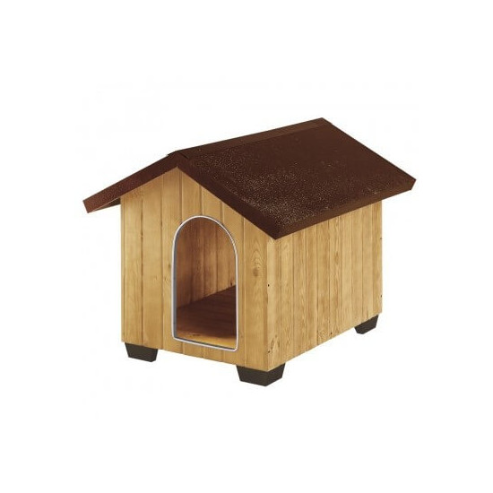 Niche domus bois large de Ferplast - cage pour oiseaux et rongeurs dans Niches pour chiens