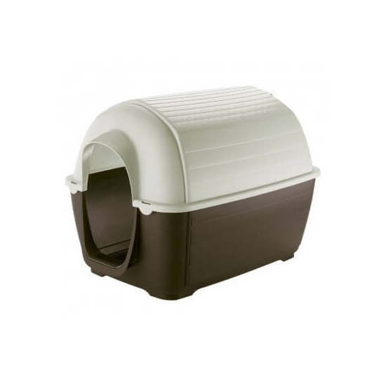Niche kenny 01 plastique de Ferplast - cage pour oiseaux et rongeurs dans Niches pour chiens