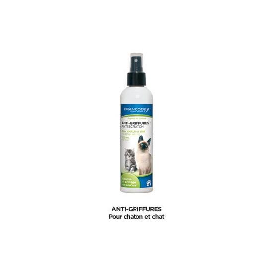 Anti griffures chat 200ml de Francodex - anti puce et soin pour chien et chat dans Hygiene pour chats