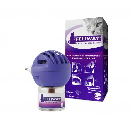Feliway diffuseur + recharge fl 48ml de Ceva - Feliway dans Hygiene pour chats