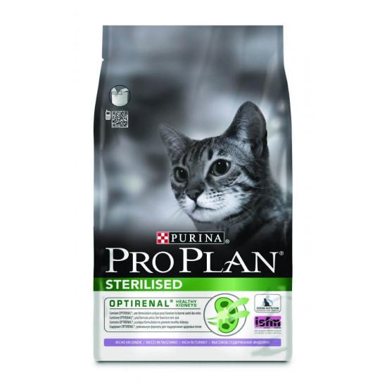 Pro plan chat sterilised dinde 3kg