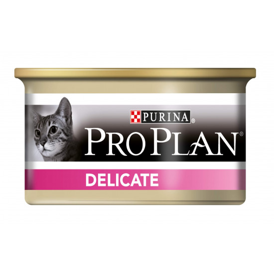 Proplan chat delicate dinde 85g de Proplan - croquette chien et chat dans Patees pour chats