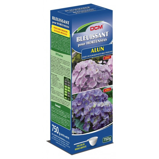 Bleuissant hortensias-alun 750g - dcm de DCM - Engrais et terreaux dans Granule