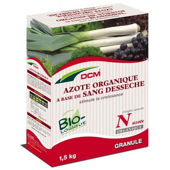 Azote organique-sang desseche 1.5kg - dcm de DCM - Engrais et terreaux dans Granule