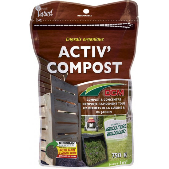 Activateur de compost 750g de DCM - Engrais et terreaux dans Granule