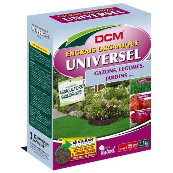 Engrais organique universel 1.5kg de DCM - Engrais et terreaux dans Granule