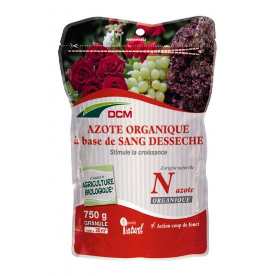 Azote organique-sang desseche 750g