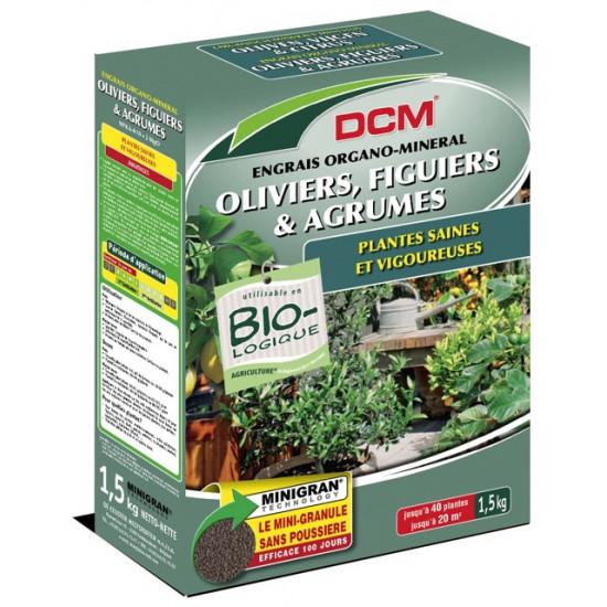 Engrais oliviers-figuiers 1.5kg de DCM dans Granule