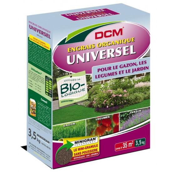 Engrais organique universel 3kg de DCM - Engrais et terreaux dans Granule