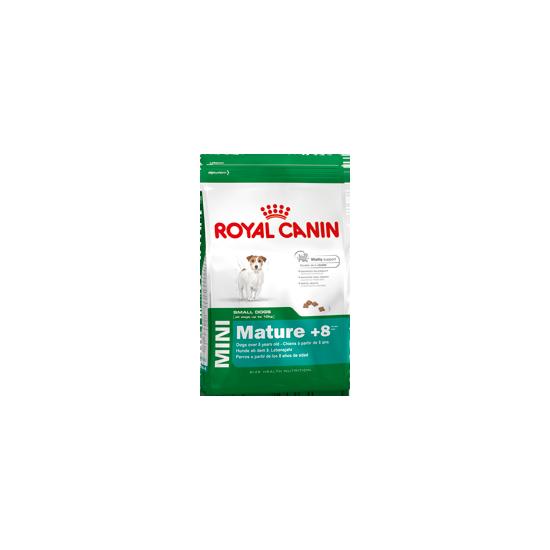 Mini adult +8 4kg de Royal Canin - Croquette chien et chat dans Chiens