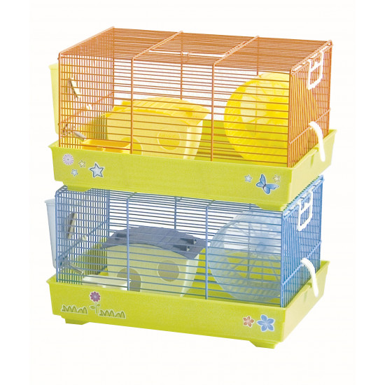 Cage rong lux 1 ass trend de Marchioro - cage pour oiseaux et rongeurs dans Cages pour rongeurs