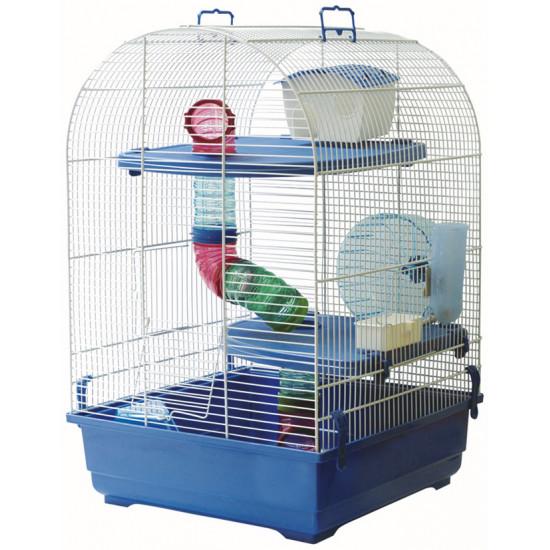 Cage trek 42 blu\bianco de Marchioro dans Cages mammiferes