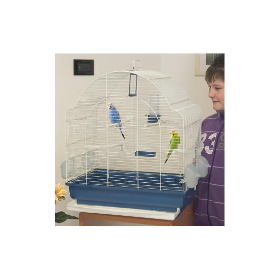 Cage spyros 62 top blu sc-beige de Marchioro - cage pour oiseaux et rongeurs dans Cages pour oiseaux