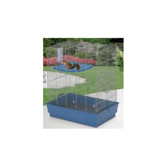 Cage scoiattolo 66 bleu-arg de Marchioro - cage pour oiseaux et rongeurs dans Cages mammiferes