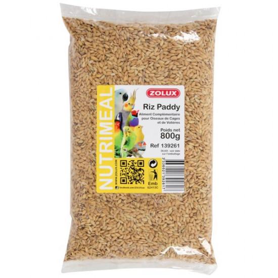 Graines riz paddy sac 800g de Zolux - Produit pour animaux dans Graines pour oiseaux