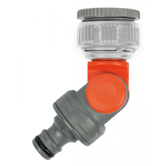 Nez robinet coude-artic 20/27-26/34 de Gardena - Arrosage goutte à goutte dans Raccord